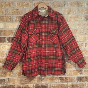 Woolrich   Thick Wool Plaid Shirt